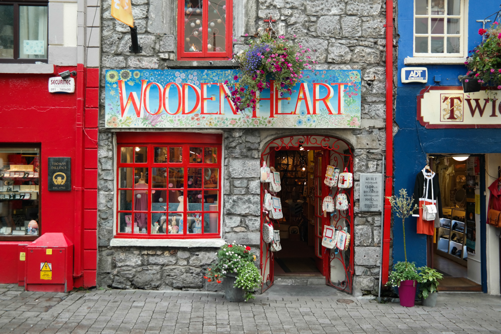 Die Quay Stree in Galway